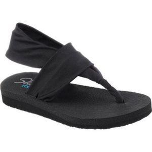 NEW Skechers Meditation Yoga Foam Thong Sandals 8